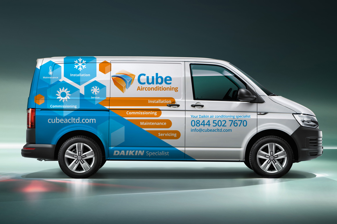 fusing creativity vehicle graphic design