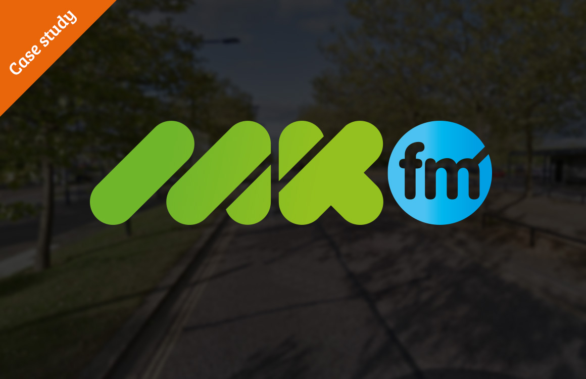 Branding for Milton Keynes based radio station MKFM